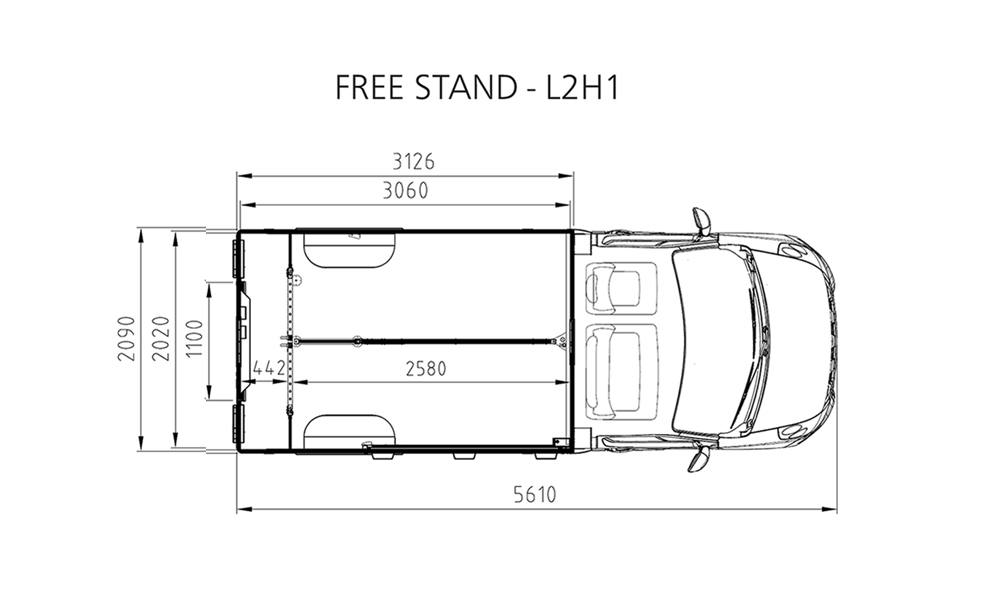Free stand